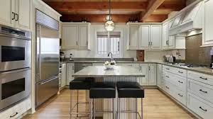 Hickory Wood Nutmeg Windham Door U Shaped Kitchen Ideas Sink