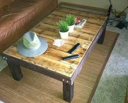 how to make coffee table thraam com