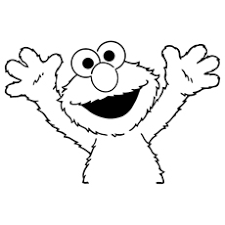 Cute Elmo Coloring Pages Free Printables Momjunction Happy Coloring Pages