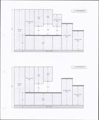 meubles hauts de cuisine hauteur entre meuble bas et haut cuisine plan de travail stunning