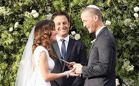 bachelor wedding chris harrison is an ordained minister but in what religion ok