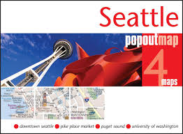 Map Seattle University by Seattle Popout Map Popout Maps Popout Maps 0711600301762