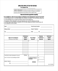 sample employee application form 10 free documents in word pdf