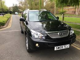 lexus used for sale uk used 2009 lexus rx 400h 400h limited edition executive for sale in