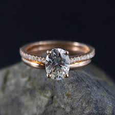 solitaire oval engagement rings forever brilliant oval solitaire engagement ring wedding set