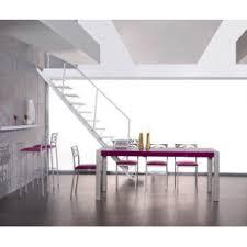 table en verre cuisine vivre la table de cuisine en verre 125 70 extensible