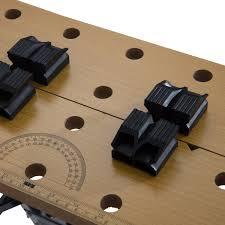 aosom homcom 25 u201d adjustable folding portable work bench and vise