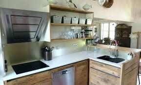 cuisine bois inox deco cuisine bois clair d coration salon blanc et bois clair 97