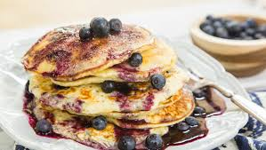 blueberry pancake recipe blueberry pancakes home family hallmark channel