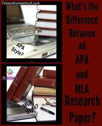 What is the Difference between an APA and MLA Research Paper     What is the difference between APA and MLA Research Papers