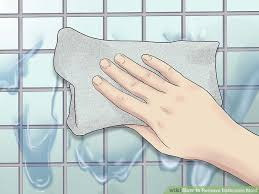 How To Clean Mildew In Bathroom 5 Ways To Remove Bathroom Mold Wikihow