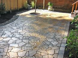 Paver Designs For Patios by Cute Cheap Patio Flooring Ideas Also Outdoor Floors Tile Wood The