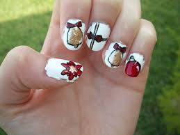 nail art red and gold beautify themselves with sweet nails