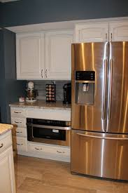 sharp microwave drawer diamond grey stone cabinets by lowes
