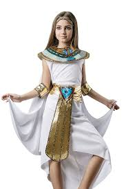 Amazon Com Kids Girls Cleopatra Halloween Costume Egyptian