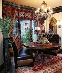 Tuscan Style Dining Room Furniture by 479 Best Dining Rooms Images On Pinterest Curtains Tuscan