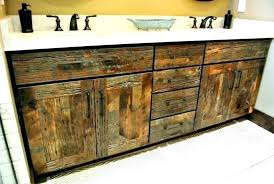 distressed wood bathroom cabinet reclaimed wood bathroom distressed bathroom vanity reclaimed wood