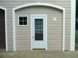 Exterior Door Pediment And Pilasters by Mounting Storm Door On Azek Finish Carpentry Contractor Talk