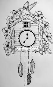 Cuckoo Clock Heart Best 25 Cuckoo Clock Tattoo Ideas On Pinterest Traditional