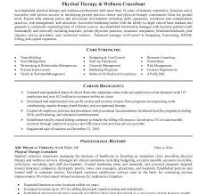 sumptuous physical therapy resume sample 10 resume for technician