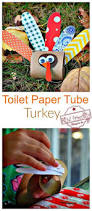 make a cute little turkey out of a toilet paper tube