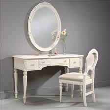bedroom dark wood makeup vanity table vanity with chair set