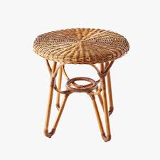 round rattan side table bodega round rattan side table rattan construction and rounding