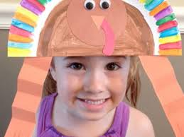 turkey hat paper plate turkey hat craft scholastic