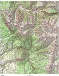 Topographical Map Of Colorado by Elk Range Usgs Topo Mega Maps Custom Object Summitpost