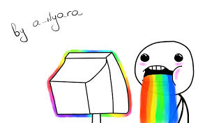 Rainbow Meme - meme rainbow xdd wallpaper by a nyara on deviantart