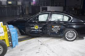 lexus vs mercedes crash test bmw g30 5 series five stars in the euro ncap crash test http