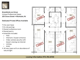 Office Space Floor Plan Available Office Space Brassworks On Grove