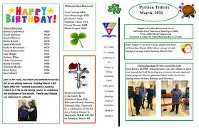 celebrate it 360 ribbon march newsletter knights of pythias retirement center vancouver wa