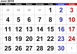 Kalender 2018 Hari Raya Idul Fitri Kalender Juni 2018 Zum Ausdrucken Pdf Excel Word Kalender