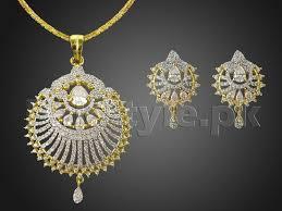pendant necklace set images Ad stone pendant jewelry set price in pakistan m010770 prices jpg