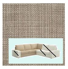 Sofa Section Ikea Kivik Corner Sofa Section Cover Isunda Beige Slipcover