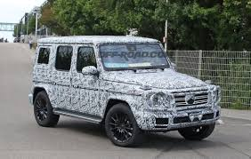 mercedes g wagon 2019 mercedes g class spy shots show more new bits headed for