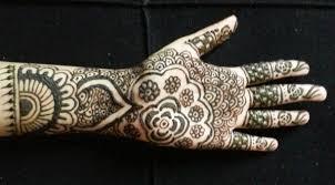 simple bridal henna easy indian mehndi design