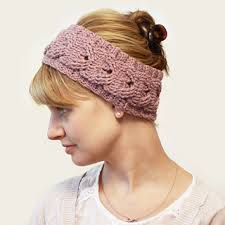 crochet hairband ravelry cabled headband pattern by miller