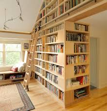 Built In Bookcase Kits Furniture Library Ladder Kit For Make It Easier To Retrieve And