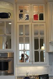 Kitchen Cabinet Doors With Glass by Interior Bubble Glass Kitchen Cabinet Doors Throughout