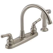 two handle kitchen faucets was01xns two handle kitchen faucet