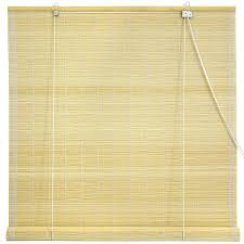 Cheap Outdoor Bamboo Roll Up Shades by Amazon Com Oriental Furniture Matchstick Roll Up Blinds Natural