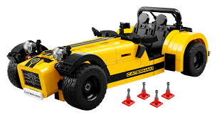 Finally The Caterham Seven Has Been Transformed Into Lego 2015