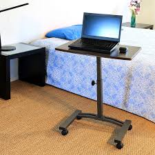 adjustable laptop desk stand top 61 peerless rolling bed desk adjustable laptop cart on wheels