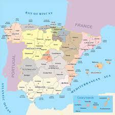 Alicante Spain Map provinces of spain property net spain vagabonding love