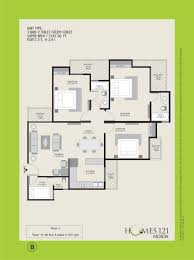 homes 121 apartment floor plan noida extension