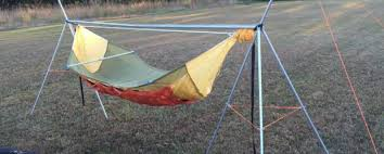 to make a diy portable hammock stand