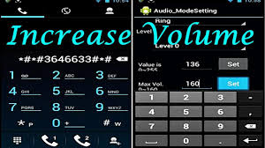 android volume increase volume of speaker earphone or mic of android android