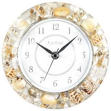 amazon com beautiful sands of time wall clock coastal style